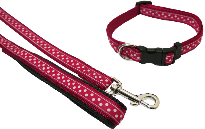 Red/Spotty » 19mm x 102cm