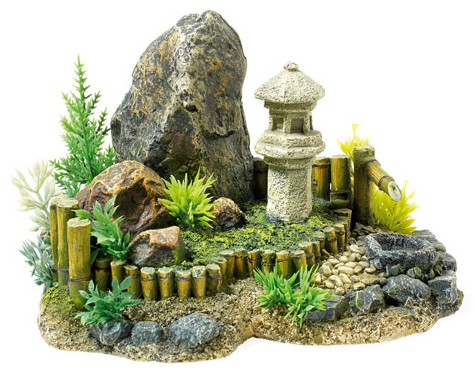 Zen Garden With Plants » 21cm
