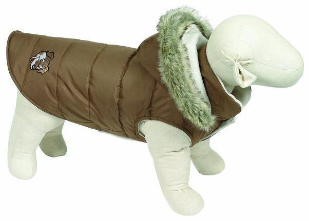 Doggy Things Waterproof Puffa Jacket Brown