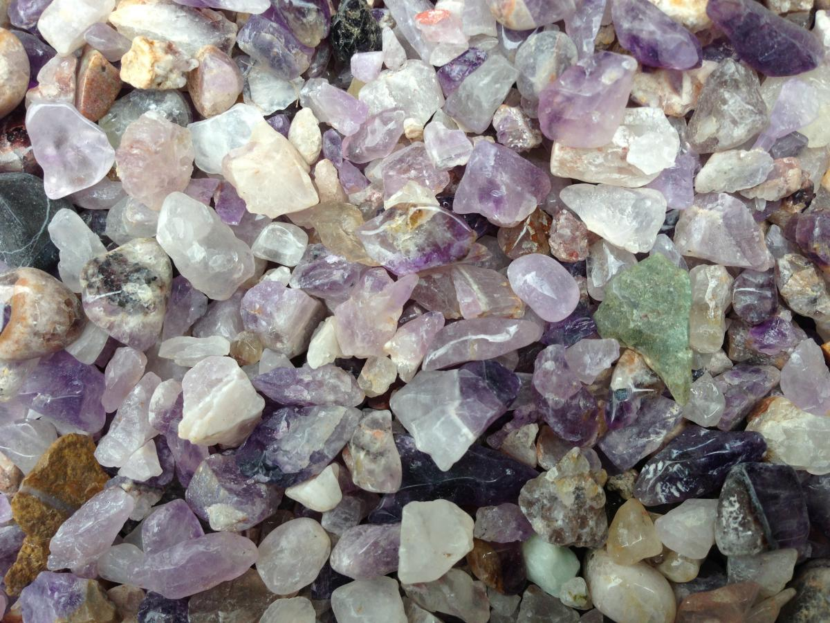 Natural Amethyst » 2kg Bag