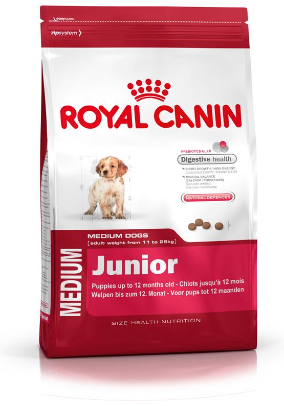 royal canin size health nutrition medium junior dog food. Black Bedroom Furniture Sets. Home Design Ideas