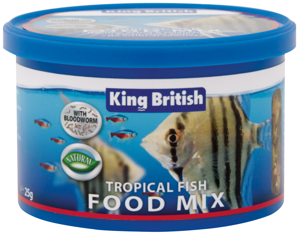 King British Tropical Fish Food Mix is a complete and balanced food ...