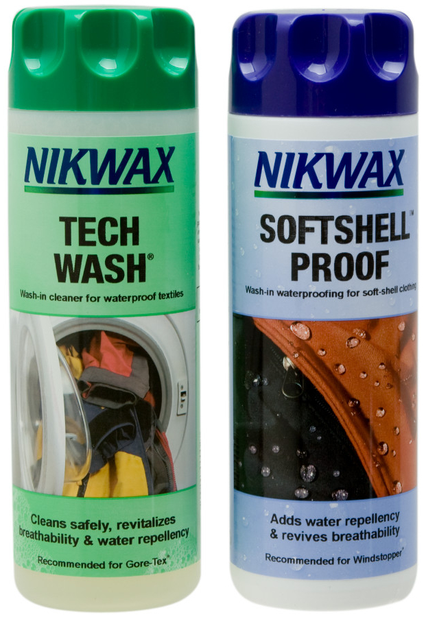 1 x 300ml Tech Wash & 1 x 300ml Softshell