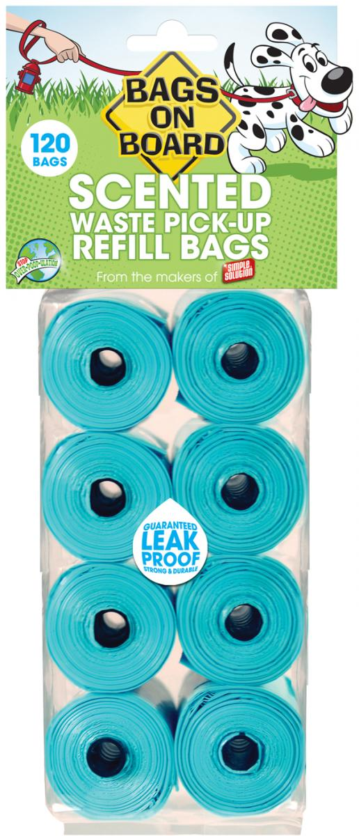Refill Bags Scented » 120 Bags (8 x Rolls)