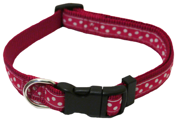 Red Spotty » 25 - 36cm x 13mm