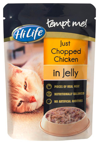 Adult Chicken in Jelly Wet » 16 x 85g Pouches