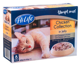 Adult Chicken in Jelly Wet » 8 x 85g Pouches