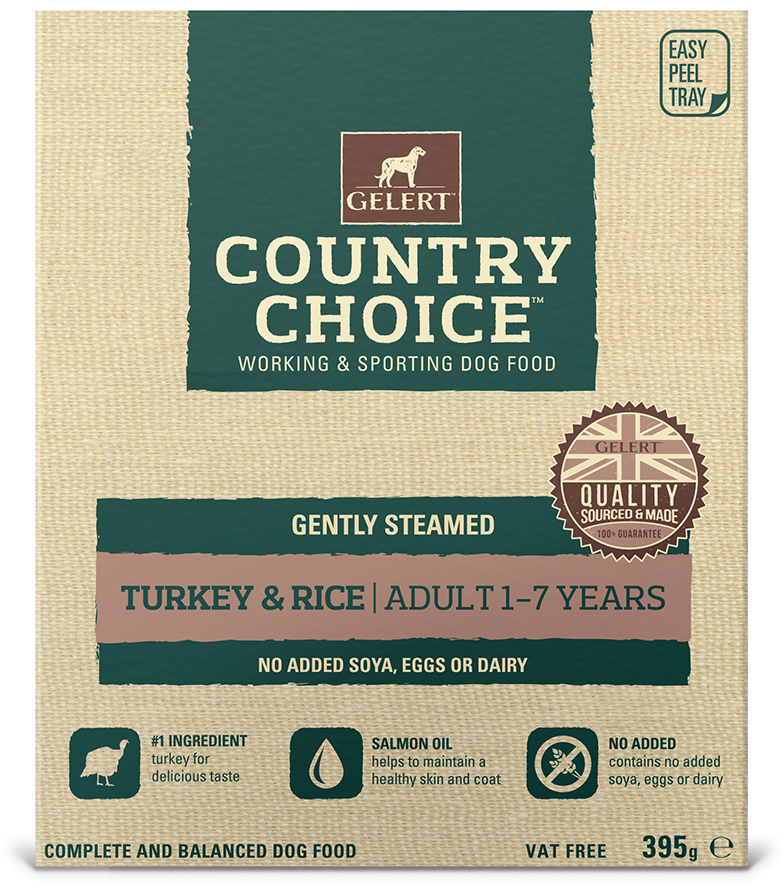 Turkey Wet » 10 x 395g Trays