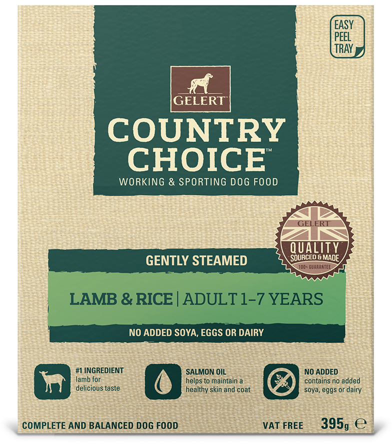 Lamb Wet » 10 x 395g Trays