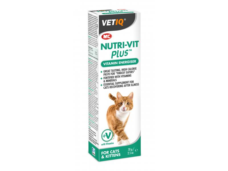 Nutr-Vit Cat Paste » 70g Tube
