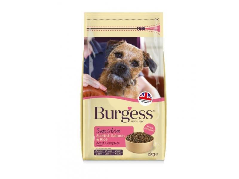 Burgess Sensitive Dry Dog Food