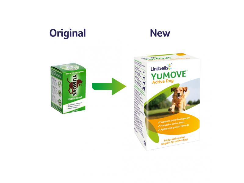 YuMove Active Dog » Pack of 60 Tablets