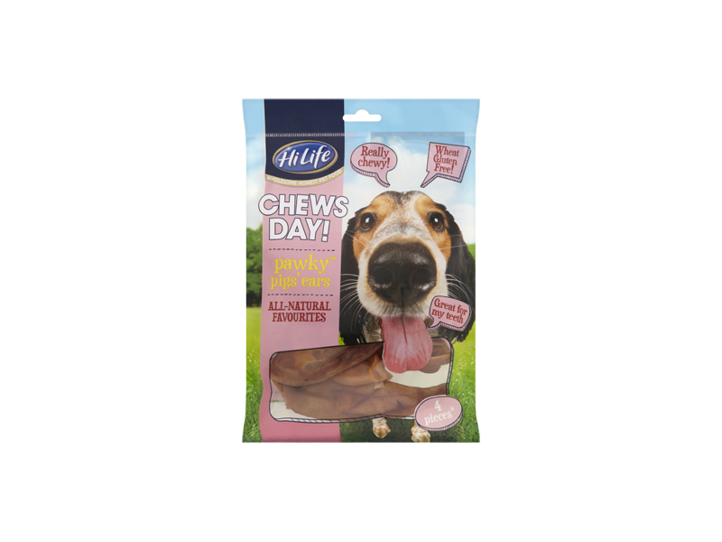 Pawky Pigs Ears » Pack Of 4