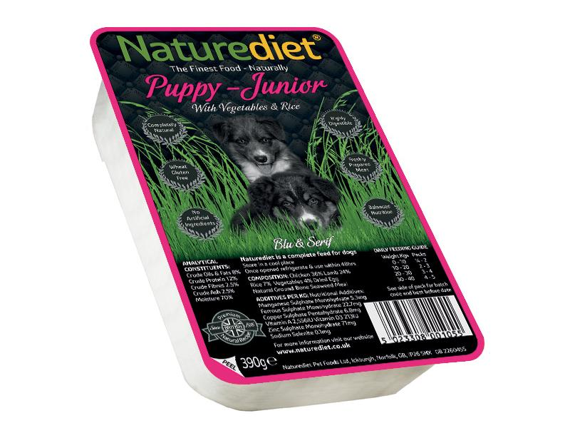 Puppy/Junior » Chicken & Lamb Wet » 18 x 390g Trays