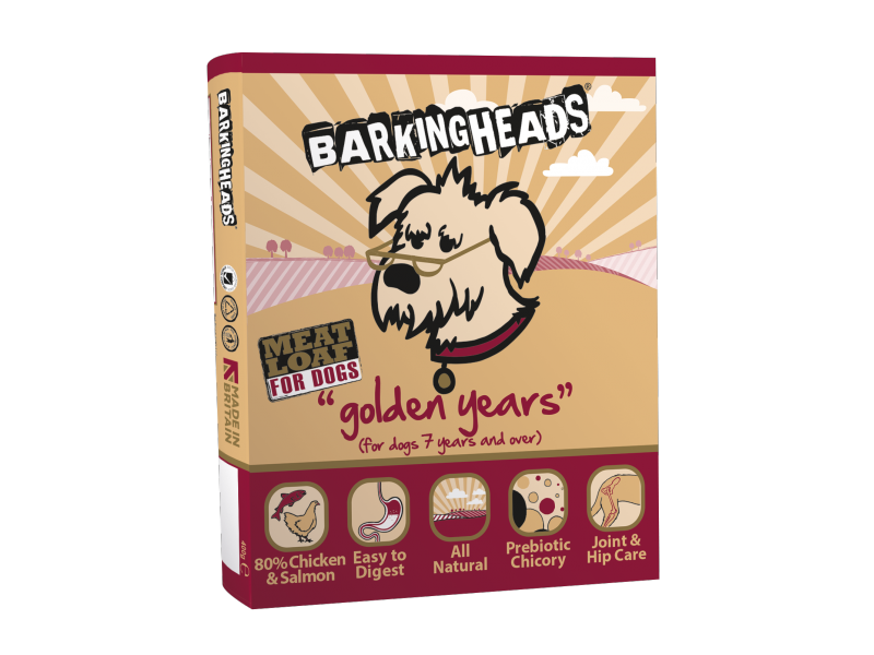 Barking Heads Senior Dog Food