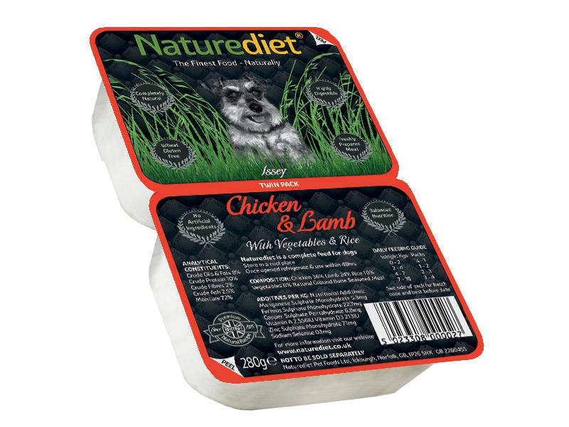 Twin Pack » Chicken & Lamb Wet » 18 x 280g Trays