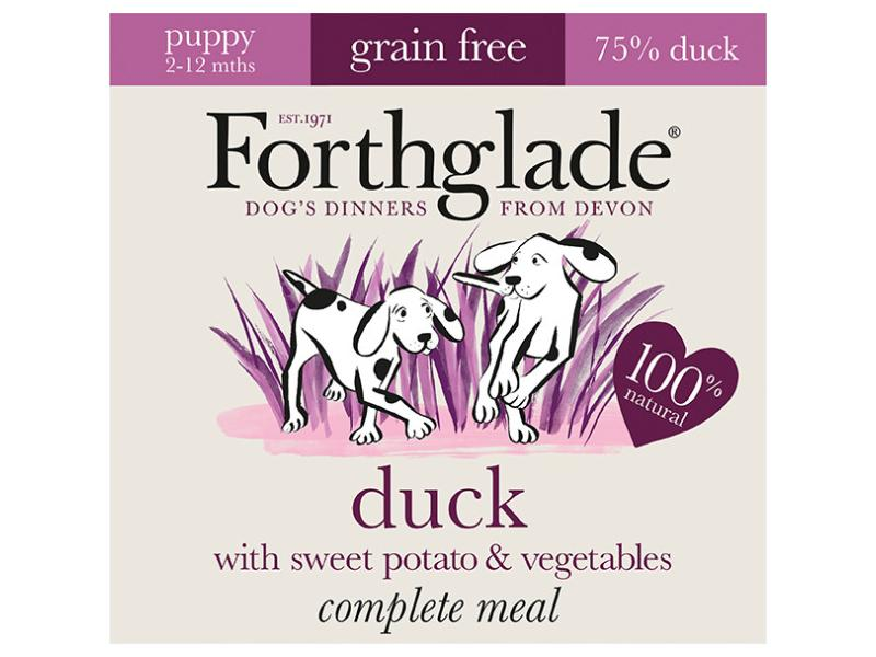 Puppy » Duck & Sweet Potato » 7 x 395g Trays