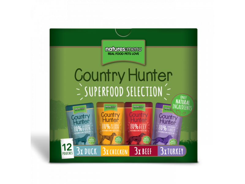 """Superfood Selection"" Multipack » 12 x 150g (3x Beef/Turkey/Chicken/Duck)"