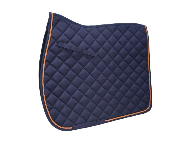 Navy with Orange Cord Binding » Pony