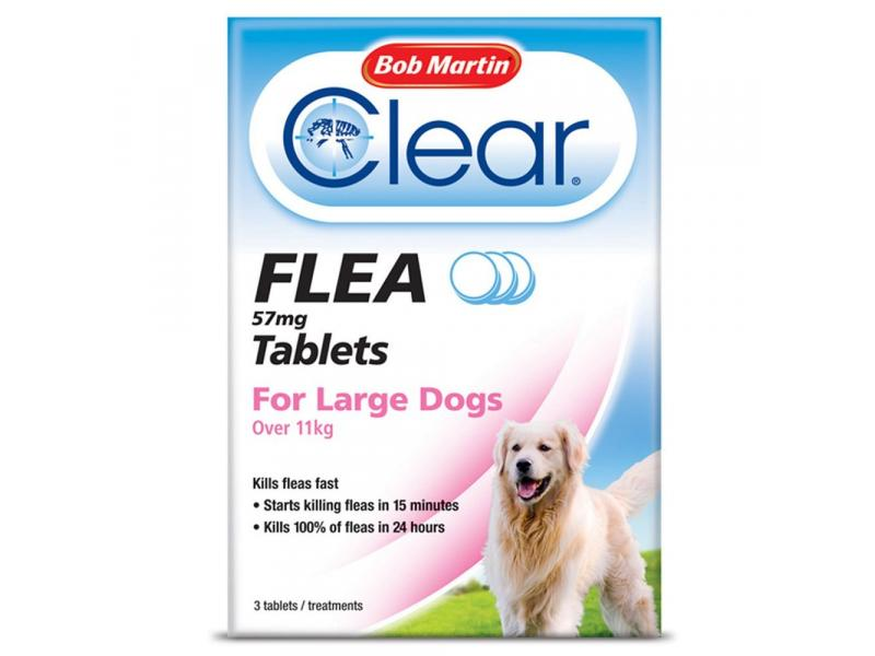 Large Dogs (Over 11kg) » 3 Tablets
