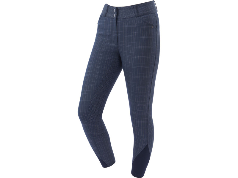 Navy Plaid » 24 Inch